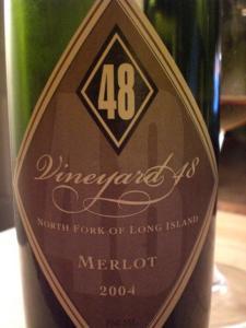 Vineyard 48 Merlot 2004