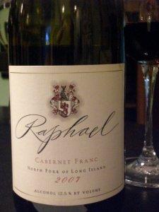 Raphael 2007 Cab Franc