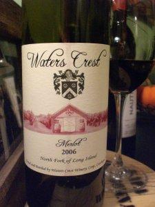 Waters Crest 2006 Merlot