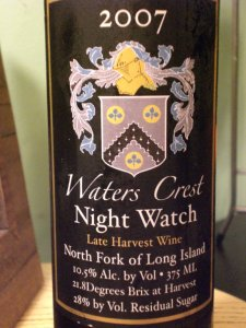 Waters Crest Night Watch 2007