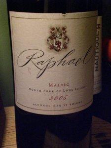 2005 Raphael Malbec