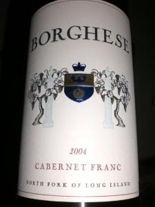 Borghese 2004 Cabernet Franc