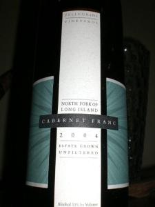 Pellegrini Vineyards 2004 Cabernet Franc
