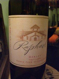 Raphael 2005 Merlot