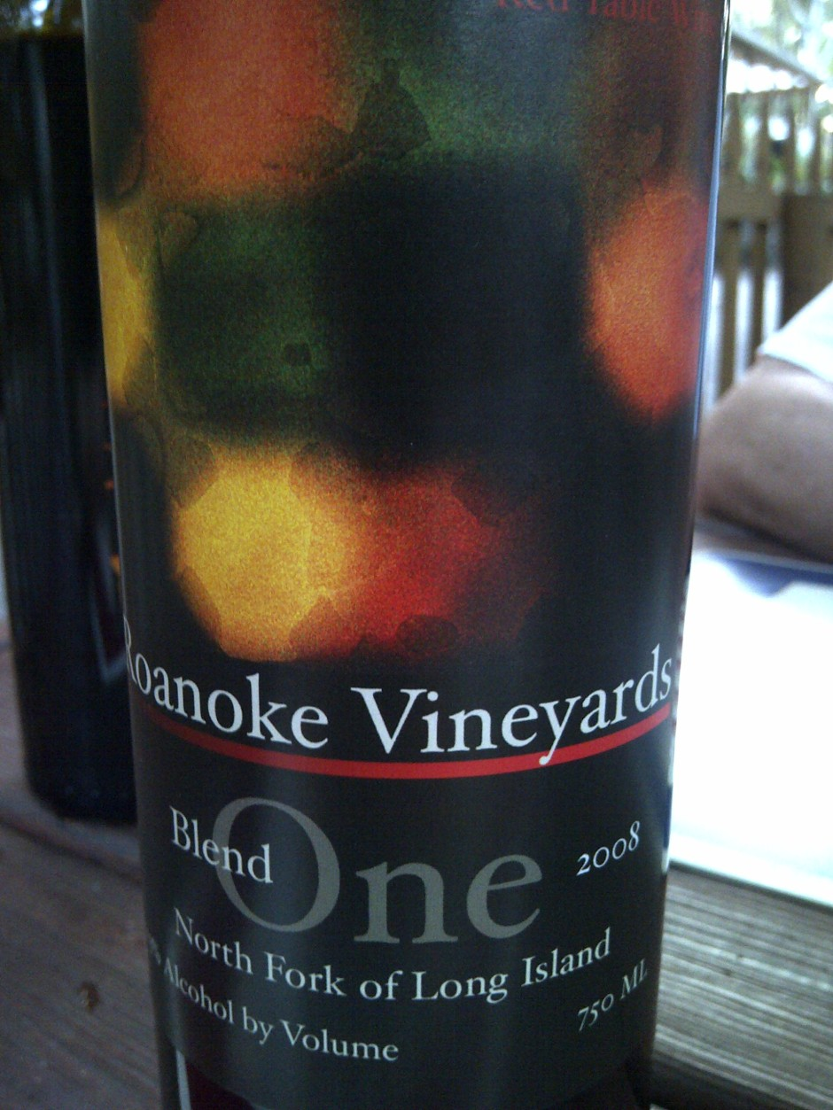 Roanoke 2008 Blend One