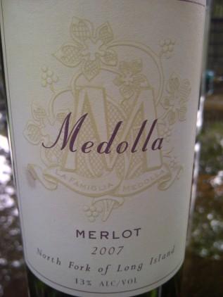 Medolla 2007 Merlot