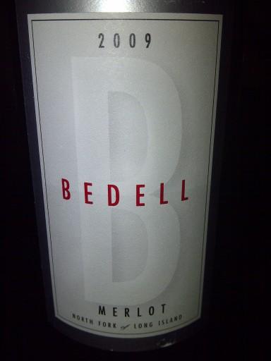 Bedell09Merlot